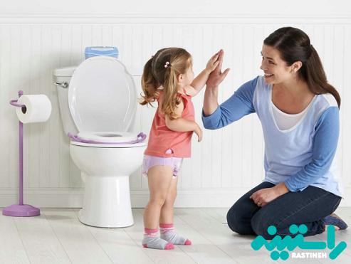 کودک را به توالت ببرید