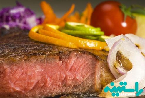گوشت قرمز بدون چربی
