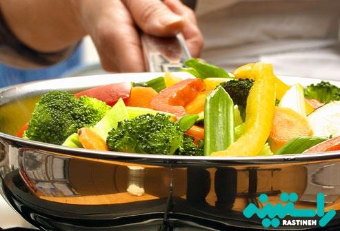 سبزیجات مختلف