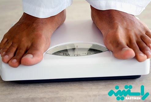 پایین نگه داشتن وزن بدن