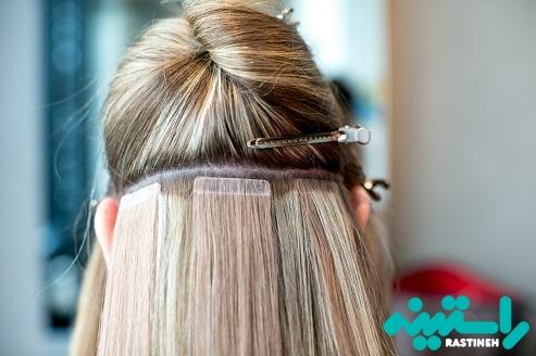 اکستنشن مو چسبی