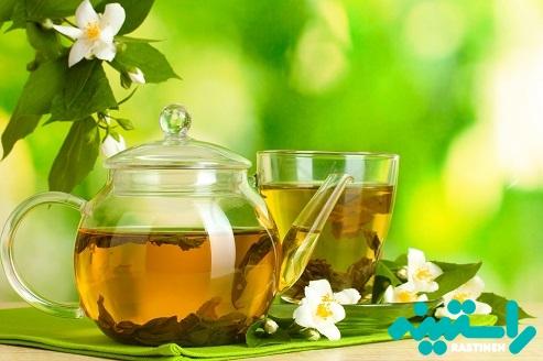 نوشیدنی های گیاهی مثل چای سبز