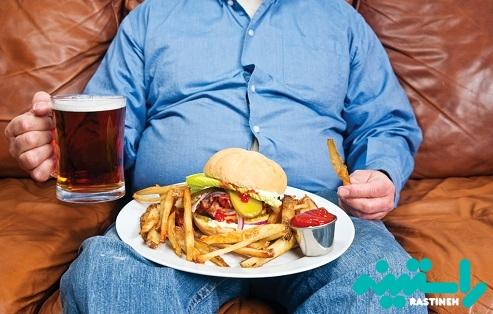 رابطه کبد چرب غیر الکلی و چاقی