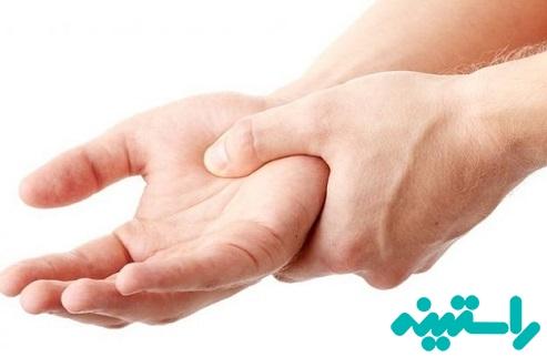 مدین در ناحیه مچ دست