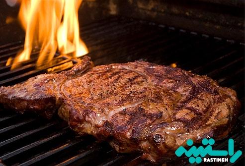 گوشت هایی با چربی بالا در کباب