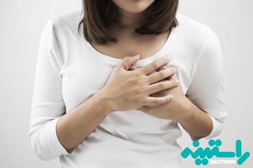 درد یا تورم در ناحیه پستان