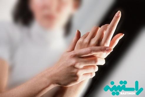 خواب رفتن انگشتان دست و پا