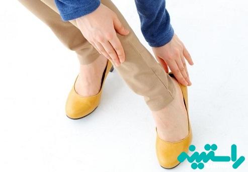 کفش را با جوراب بپوشیم