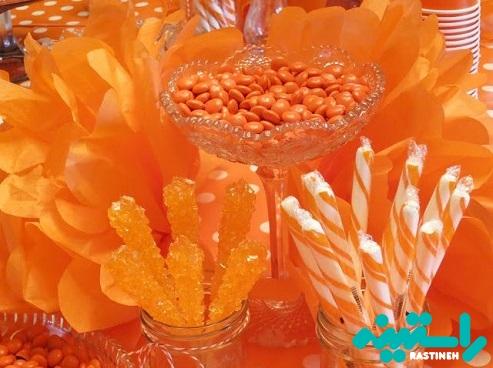 نارنجی در روان شناسی رنگ ها