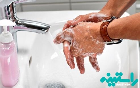 شستن دست ها به صورت مکرر