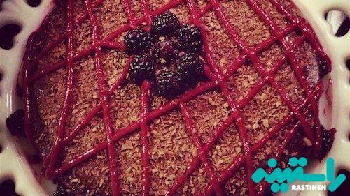 کیک شکلاتی فاقد گلوتن
