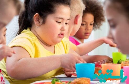 چاقی در دوران کودکان