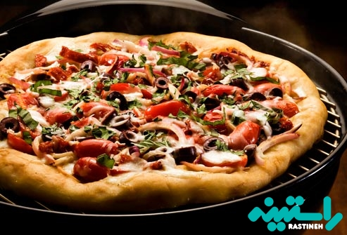 پیتزا کباب پز