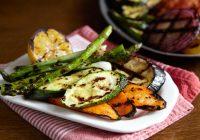 کباب کردن سبزیجات