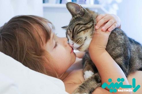 کودکان و گربه ها