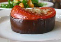 گوجه فرنگی و بادمجان کبابی