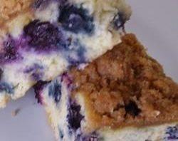 کیک بلوبری بدون شکر