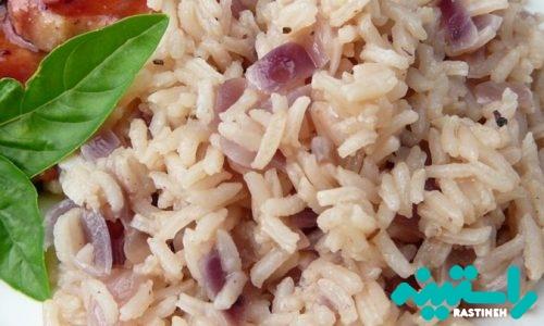 برنج و پیاز