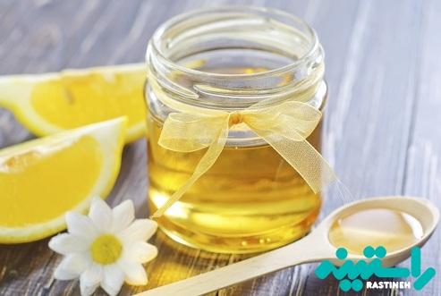 رفع منافذ باز پوست با عسل و لیمو