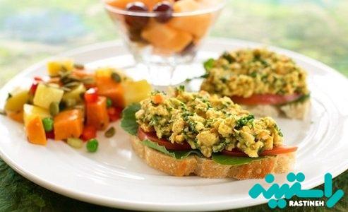 ساندویچی برای گیاهخوران