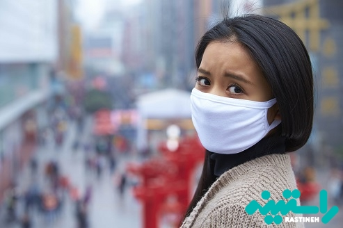 تنفس هوا آلوده