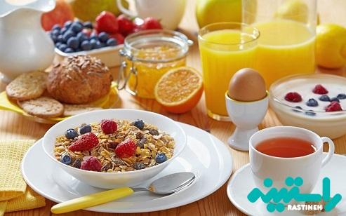 صبحانه نخوردن