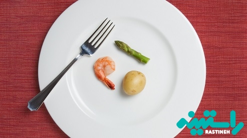 بیشازحد کم غذا خوردن