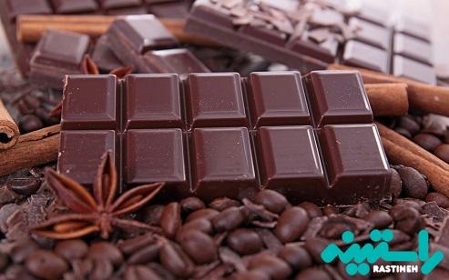 شکلات تلخ سرشار از کاکائو