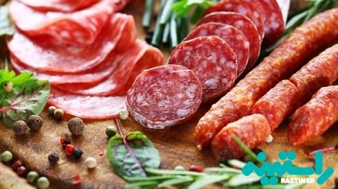 گوشت فرآوری شده