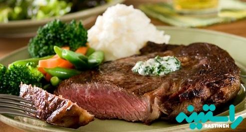 گوشت گوساله گیاه خوار