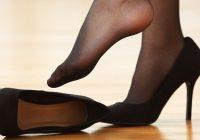 پوشیدن کفش پاشنه بلند