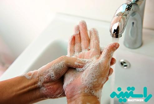 شستشو با دست