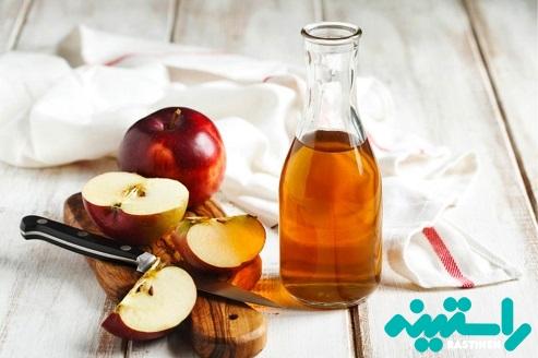 حمام سمزدایی سرکه سیب