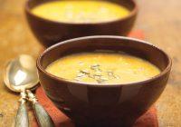 سوپ هویج گردویی