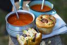 سوپ کرمی گوجه فرنگی