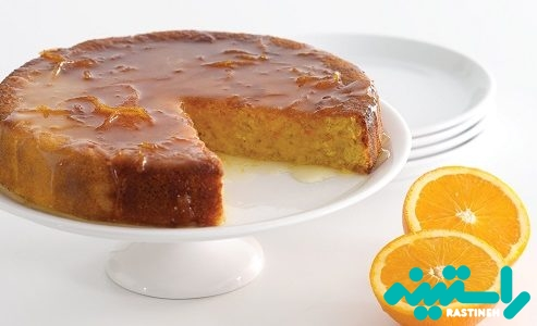 کیک پرتقال بدون آرد