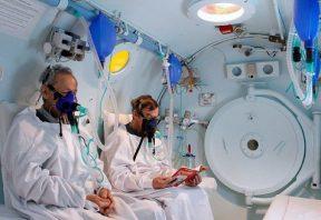 اکسیژن درمانی با فشار بالا
