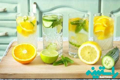 آب طعم دار