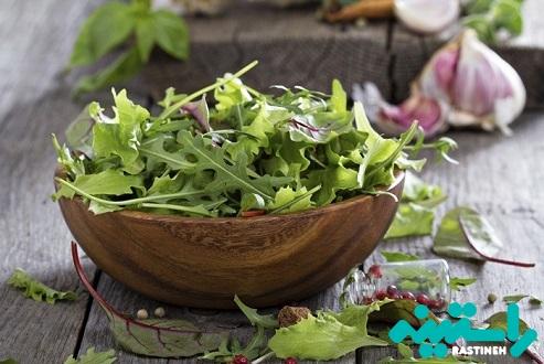 سبزیجات برگدار
