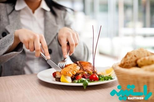 غذای رستورانی