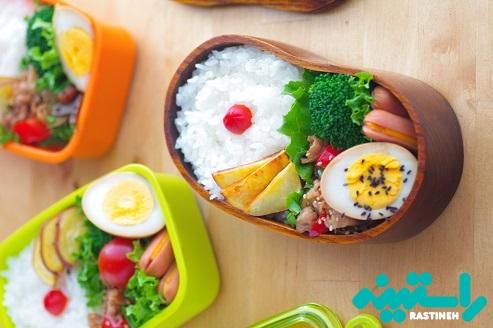 با خودتان غذای سالم بیاورید.