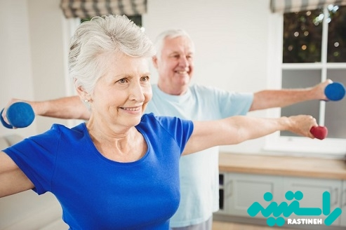 تمرین مقاومتی سالمندان