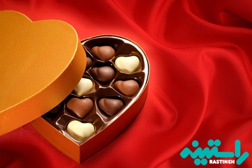 هدایای شکلاتی در روز عشق