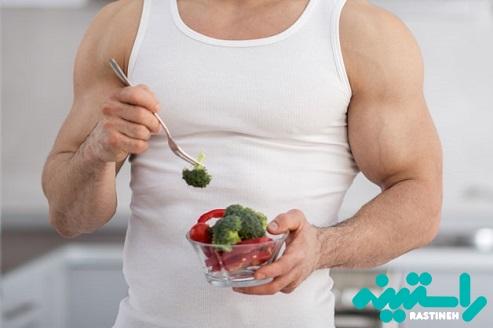 عضلهسازی با یک رژیم غذایی وگان