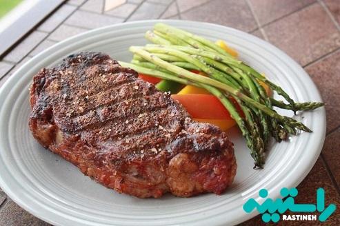 گوشت گاو علفخوار