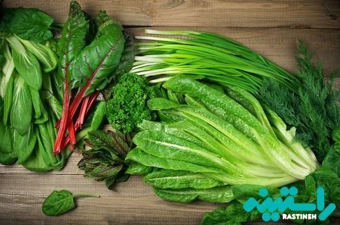 اسفناج و دیگر سبزیجات برگ دار با نیترات بالا