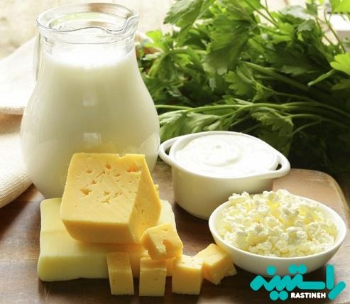 مواد غذایی غنی از کلسیم