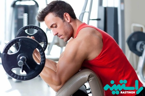 ساخت عضله