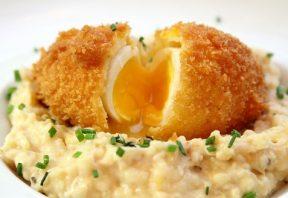 تخم مرغ با چربی اضافه