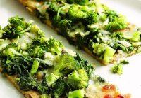 پیتزای سبز